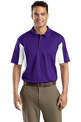 Side Blocked Micropique Sport Wick® Polo