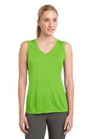 Sport-Tek® Ladies Sleeveless Competitor™ V-Neck Performance Tee
