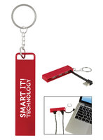 3-Port USB Hub Key Chain