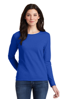 Gildan 100% Cotton Ladies Long Sleeve T-Shirt (5.3 oz.)