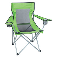 Deluxe Mesh Folding Camp Chair