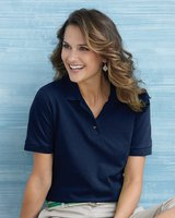 Ladies' 6.5 oz. Ultra Cotton Pique Knit Sport Shirt
