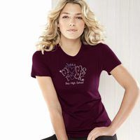 Bella + Canvas Ladies' Slim Fit Crew Neck Thumbnail